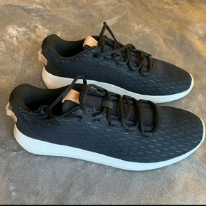 New! Under Armour Black Ripple Elevated Sneakers